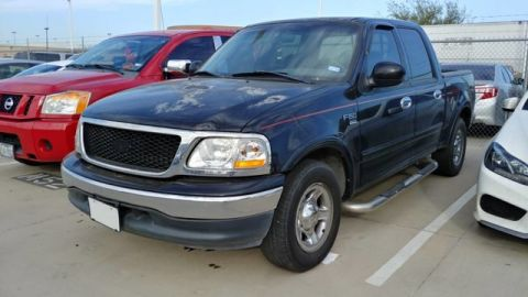 Pre-Owned 2001 Ford F-150 SuperCrew Lariat