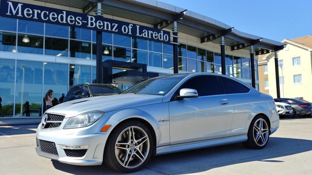 Certified Pre-Owned 2015 Mercedes-Benz C-Class AMG® C 63 Coupe